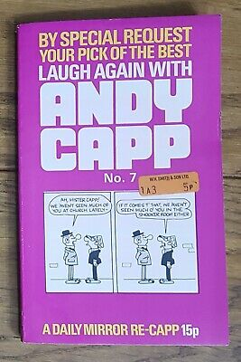 Vintage Paperback: Laugh Again With Andy Capp No.7 (Daily Mirror 1972) • 0.99£