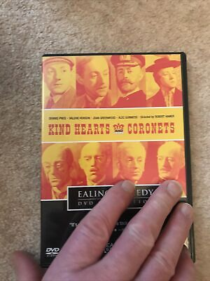 Kind Hearts And Coronets Dvd • 2.29£