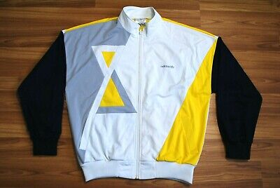 Vintage Adidas Track Top Jacket 1980s Made In West Germany Track Retro Tennis 54 • 42.45£