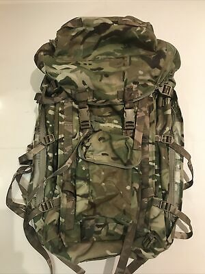 Genuine British Army Issue MTP Long Back Bergen/Rucksack!Excellent/hardly Used • 49.95£