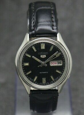 $ CDN28.06 • Buy 80's Vintage Seiko 5 Automatic Movement 6309-8230 Japan Made Men's Watch.