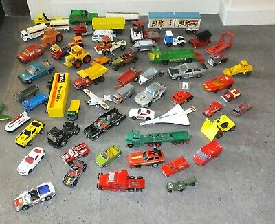 Large Collection Of MATCHBOX Dinky & Corgi Etc Joblot Cars Vans Diecast Bundle • 17£