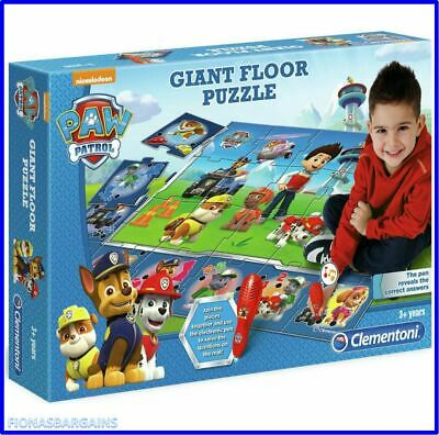 £17.95 • Buy NEW & SEALED Clementoni Paw Patrol Giant Floor Jigsaw Puzzle Interactive Mat