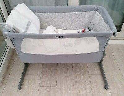 Next2me Crib Chicco Baby Co Sleeping Cot Bedside Next To Me • 56.80£