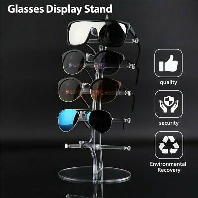 AU9.99 • Buy 5 Pair Rack Show Sunglasses Glasses Display Stand Holder Plastic Counter