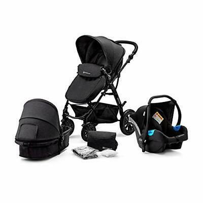 AU553.61 • Buy Kinderkraft Pram 3 In 1 Set MOOV Travel System Baby Pushchair + Accessories
