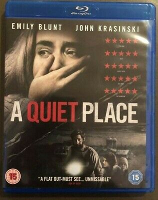 A Quiet Place [Blu-ray, 2018] (Horror) • 3.99£