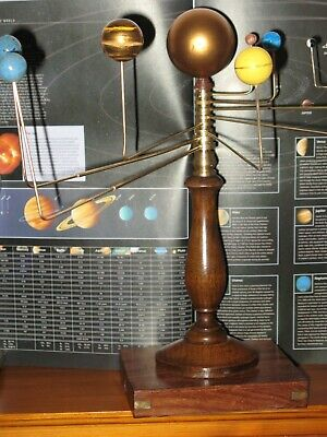 Vintage Orrery Planetarium Hand Made By A Clock Repairer • 150£