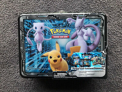 SEALED 2019 Pokemon Fall Collector's Chest - Armoured Mewtwo, Charizard, Pikachu • 205£