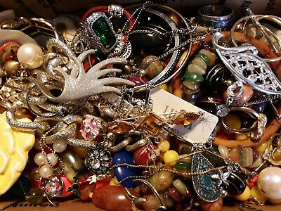 $ CDN19.62 • Buy #1 Vintage To Now Estate Find Jewelry Lot Junk Drawer Unsearched Untested Wear