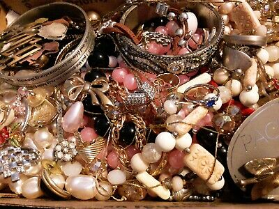 $ CDN18.98 • Buy #4 Vintage To Now Estate Find Jewelry Lot Junk Drawer Unsearched Untested Wear