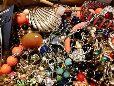 $ CDN19.62 • Buy #6 Vintage To Now Estate Find Jewelry Lot Junk Drawer Unsearched Untested Wear