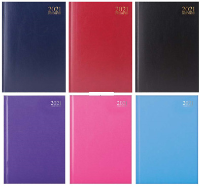 £8.49 • Buy 2021 A4, A5 Day To Page, Week To View Appointment Diary Hardback Casebound Diary