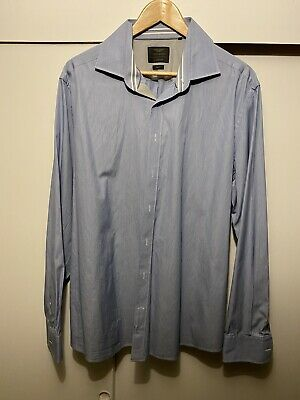 Mens Hackett Aston Martin Racing Oxford Shirt Size XXL • 15£