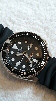 $ CDN689.70 • Buy New Seiko SKX007J1 Japanese Automatic Black Rubber Diver NH36 Upgraded Movement