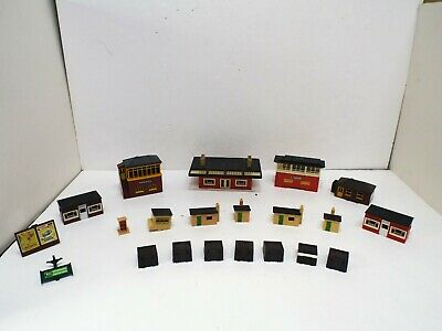 Hornby & Triang Oo Gauge Ex Layout Station Buildings Excellent Job Lot (l12) • 20£