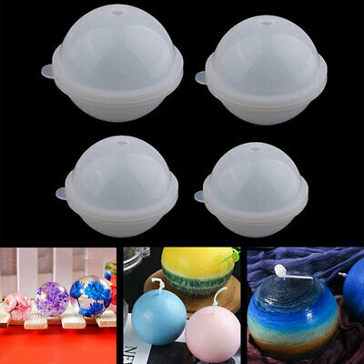 £8.24 • Buy Silicone Ball Mould Sphere Mold Epoxy Resin Casting DIY Making Craft 70-100mm UK