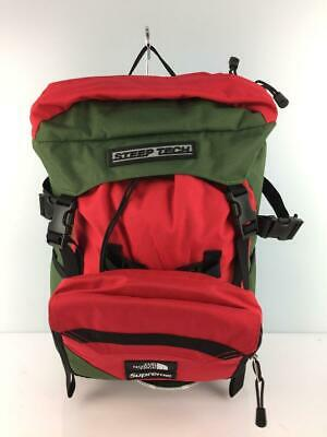 $ CDN714.99 • Buy Supreme X THE NORTH FACE Steep Tech Backpack Bag Khaki Red Used From Japan F/S