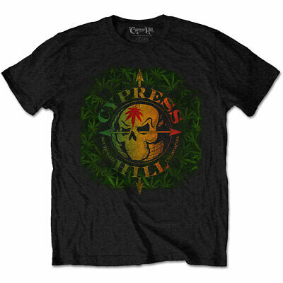 Cypress Hill South Gate Logo & Leaves Official Tee T-Shirt Mens Unisex • 13.99£