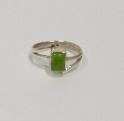 AU9.50 • Buy Solid 925 Sterling Silver Alexandrite Gemstone Ring Size 7