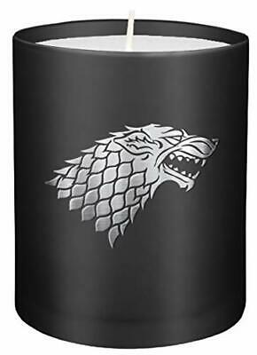 Game Of Thrones: House Stark Large Glass Candle New Loose Leaf Book • 10.51£