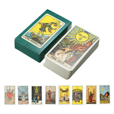 AU16.99 • Buy Tarot Cards Deck Vintage Antique High Quality Colorful Card Box Game 78 Card