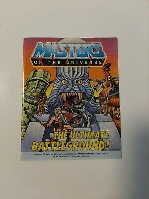 $192.54 • Buy Rare Vintage Masters Of The Universe Mini Comic - The Ultimate Battleground