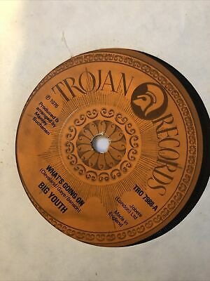 Big Youth What's Going On /Ten Against One Trojan Reggae TR 7988 Vinyl 7  • 8.25£