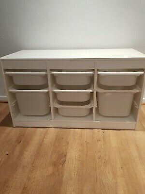 IKEA Trofast Kids Furniture Toy Storage Unit With Drawers • 25£
