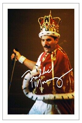 £1.89 • Buy FREDDIE MERCURY Signed Autograph 6x4 PHOTO Fan Gift Signature Print Music QUEEN