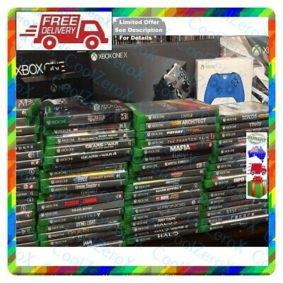AU89.79 • Buy 🎁🎈 Your Xbox One Games 4 New Year Gift *FreePost (Not PS5 PS4 Switch Nintendo)