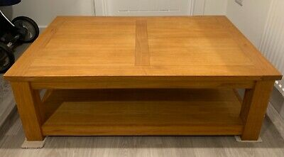 Next Cambridge Oak Coffee Table  • 70£