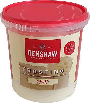 Renshaw Vanilla For Icing Cupcakes Cakes Decorating 400g BBE 01/21 • 4.70£
