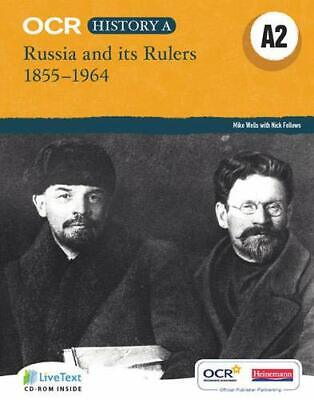 OCR A Level History A2: Russia And Its Rulers 1855-1964, Mixed Media Product, • 31.54£