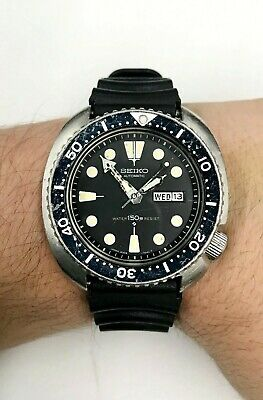 $ CDN637.94 • Buy Vintage,Men's SEIKO Automatic 150m Diver's Watch 6309-7049 Unpolished/Tarnished.