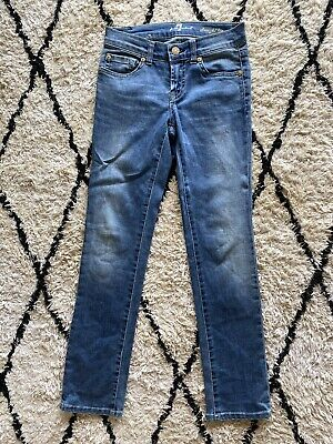 AU20 • Buy 7 For All Mankind Girls Straight Leg Jeans Size 8