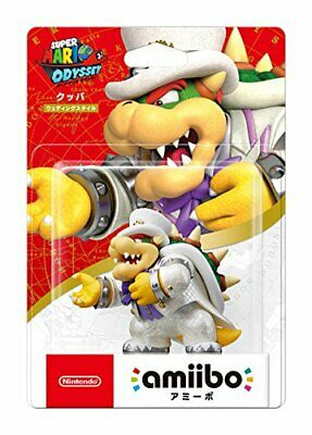 AU106.79 • Buy Amiibo Bowser Wedding Style Super Mario Series Odyssey For Nintendo 3DS Game Toy
