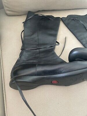 £90 • Buy Camper Black Leather Boot Size 40 Lace Up Leg