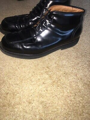 Mens Rockport Size 10 Black Boots • 50£