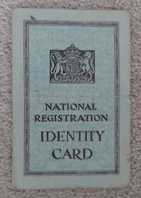 WWII National Registration IDENTITY CARD 1943 LUTON Beds • 0.99£
