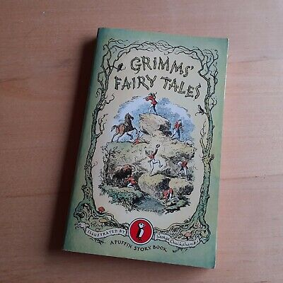 Vintage Grimms' Fairy Tales 1973 Puffin PB Illustrated By George Cruikshank VGC • 5£
