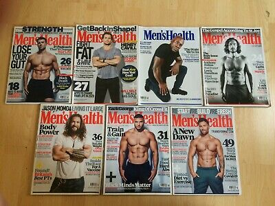 Mens Health Magazine X 7 Issues 2020/2021 • 8.99£