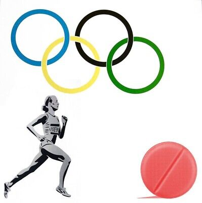 £225 • Buy Pure Evil - 'New Logo For The Olympic Doping Team' - Limited Edition Print