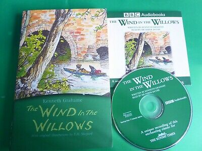 The Wind In The Willows KENNETH GRAHAME (Paperback) + CD Audiobook BBC • 1.50£