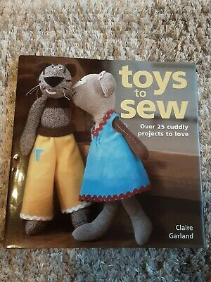 Toys To Sew Pattern Book. Hardback. Unused.25 Projects. • 2£