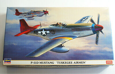 Hasegawa 1/48 P-51D Mustang 'Tuskegee Airmen' Limited Edition • 14.99£