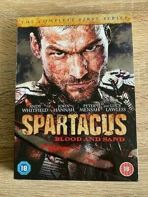 £4.99 • Buy Spartacus BLOOD AND SAND USED DVD 2012 Andy Whitfield Lucy Lawless Region 2
