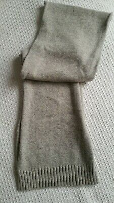 Gap 100% Lambs Wool Large Knitted Scarf  • 4.99£