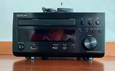 Denon RCD-M37DAB CD Player / DAB Radio With Remote Control, Areals And Manual • 89£