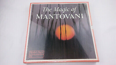 £29.45 • Buy READERS DIGEST THE MAGIC OF MANTOVANI 8 X LP BOX SET! Brand New Sealed - Records